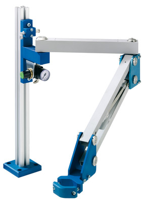 Assembly and measuring - Parallel arms and tool supports