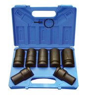 Assembly and measuring - Accessories - For impact wrench - Power socket wrench - Set